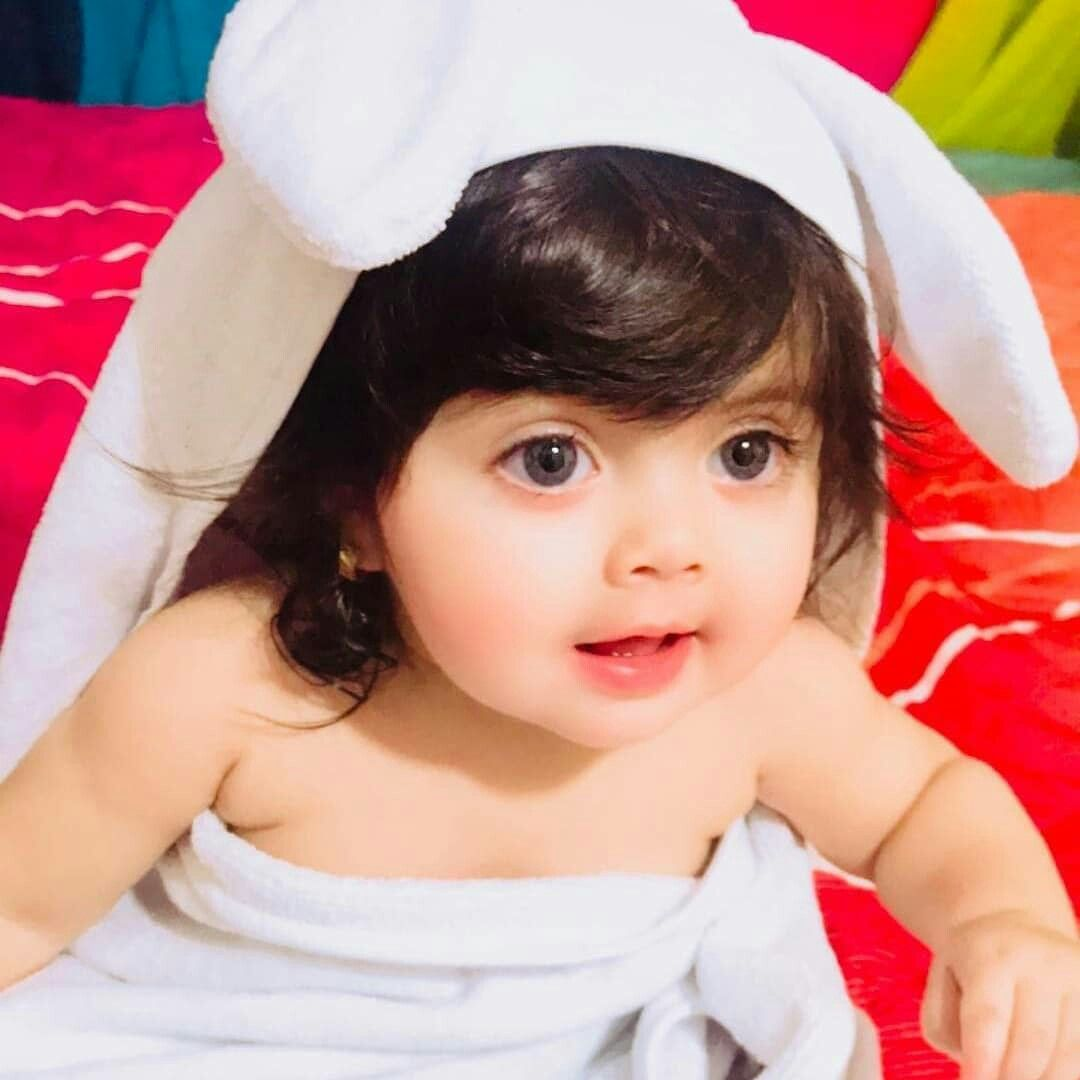 Pin By Marvi Malik On Babies Cute Little Baby Girl Cute Baby
