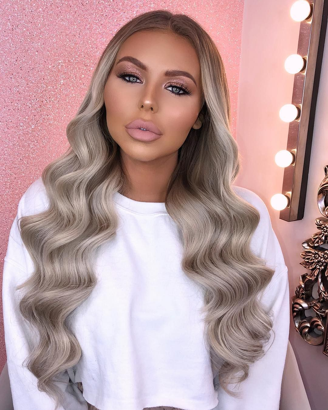 Image May Contain 1 Person Closeup Beauty Works Hair Extensions Princess Hairstyles Hair Styles
