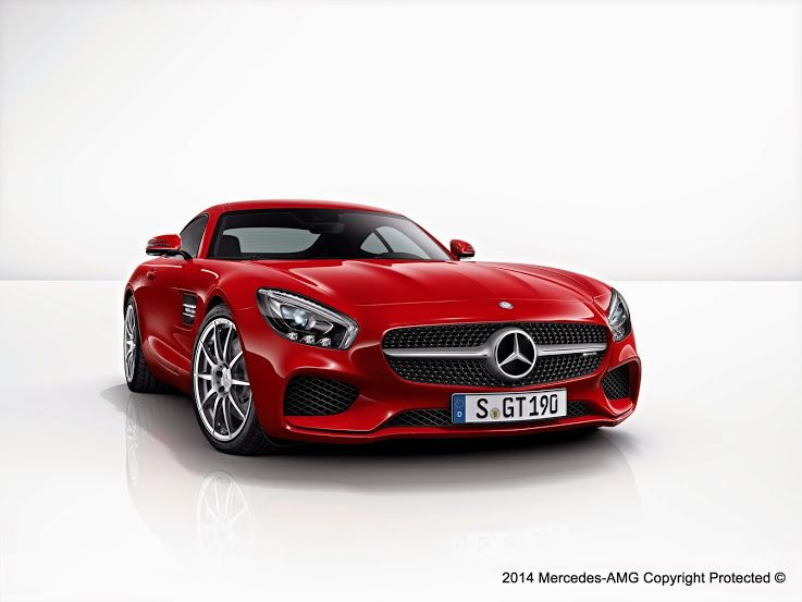 Your Favorite Mercedes-AMG GT Color.
