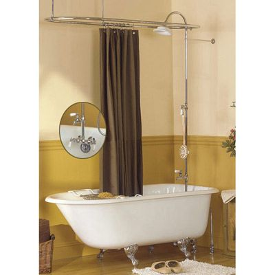 clawfoot tub shower enclosure set. Sunrise Specialty Tubfill Shower Enclosure Set  For Non Tubs