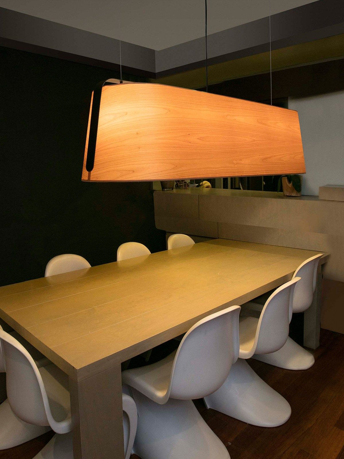 Esszimmer Lampe Langer Tisch Stood Track Menuiserie Lighting Dining Und Dining Table