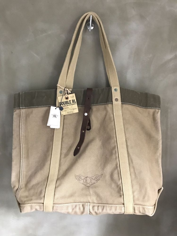 Double RL RRL Ralph Lauren Duck Digger The Real Canvas Mccoys Shoulder Tote  Bag  DoubleRLRRL  MessengerShoulderBag e5dde53af08d6