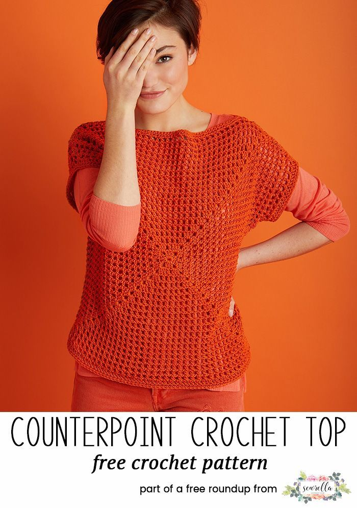 Breezy Crochet Tops For Spring Free Crochet Patterns From My