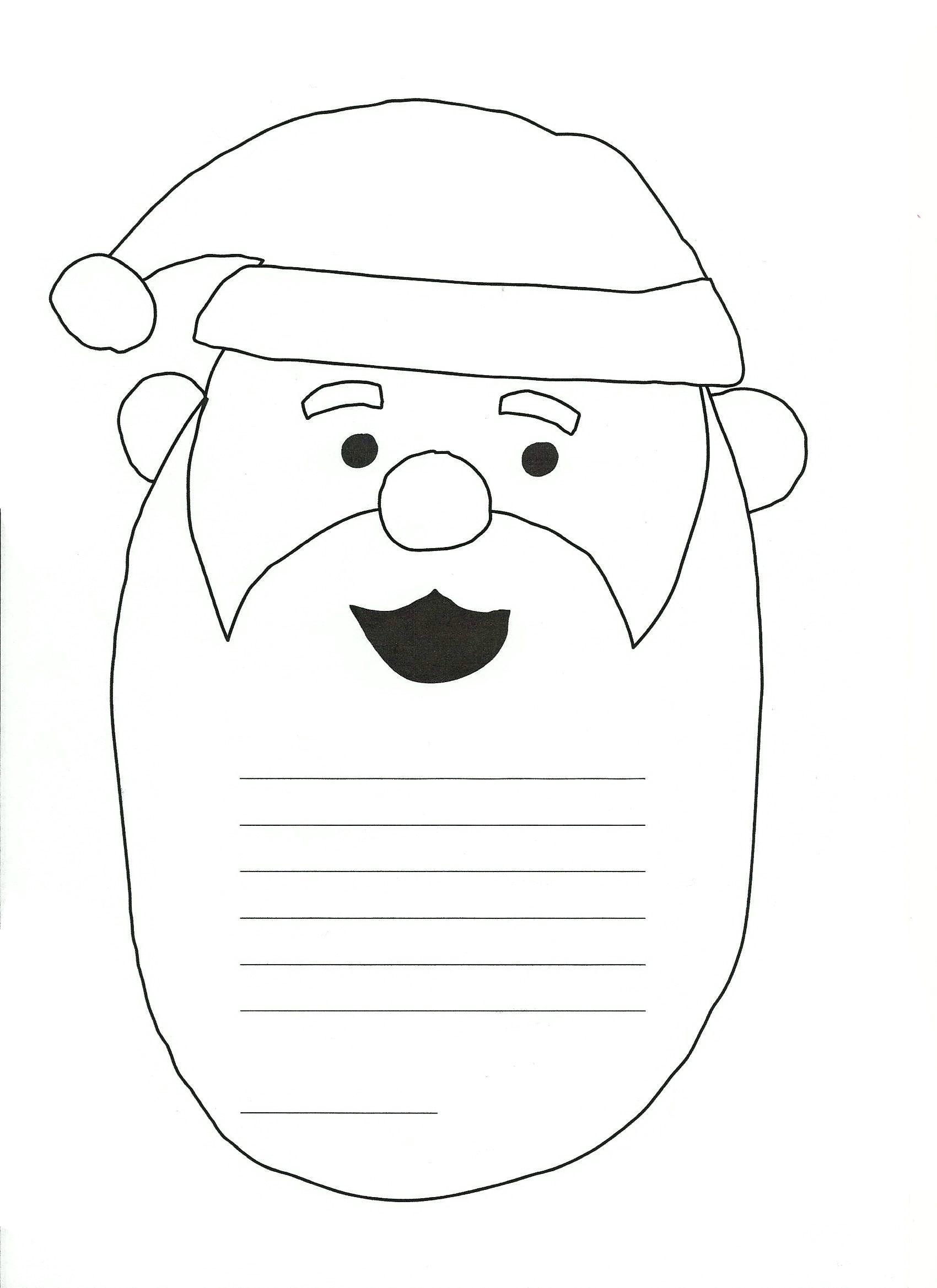 Kirje Joulupukille Printattava