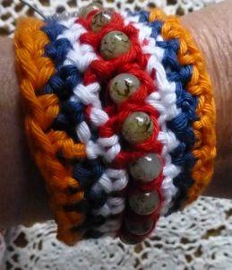 koninginnendag gehaakt armbandje armbandje haken haken