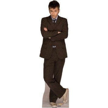 Amazon.com: Doctor Who Life-size Stand-up Cutout- The Doctor.: Home & Kitchen oh my God!