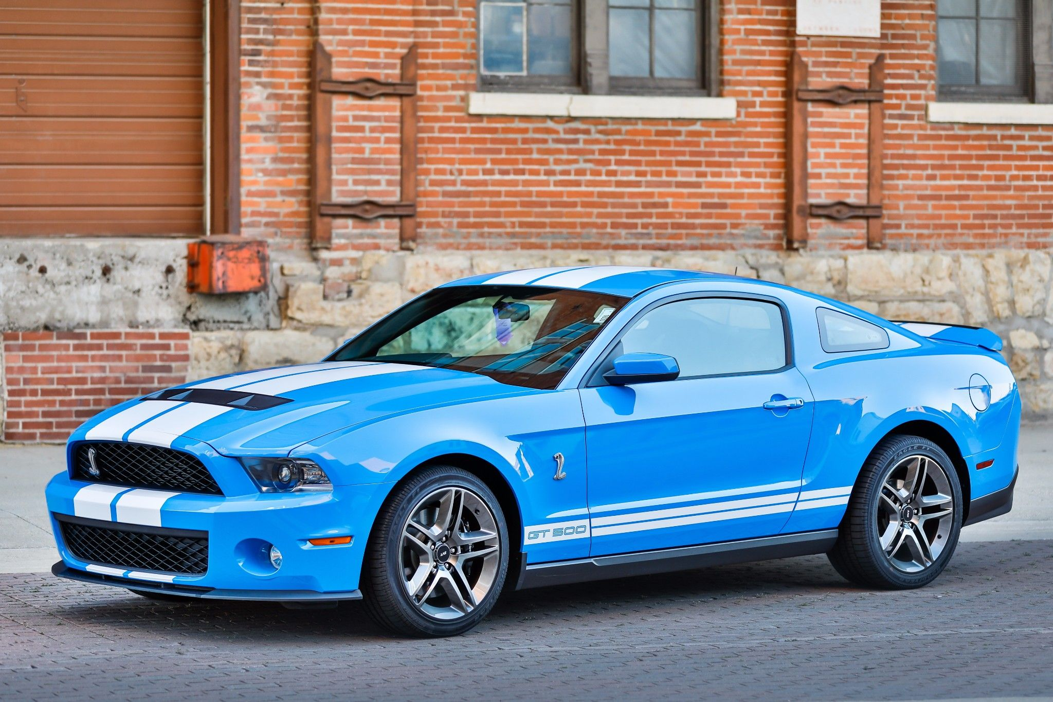 2100 Mile 2010 Ford Mustang Shelby Gt500 Ford Mustang Shelby
