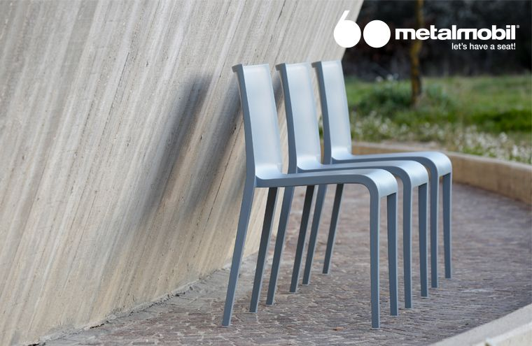 Nassau Chairs By Metalmobil: Design Marc Sadler