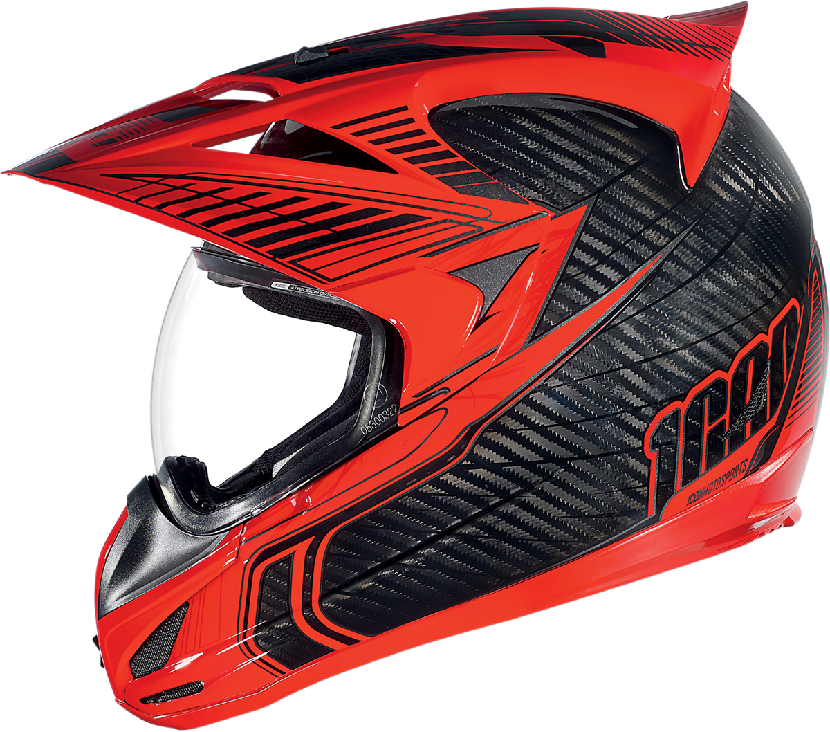 Variant Carbon Cyclic Red Products Ride Icon