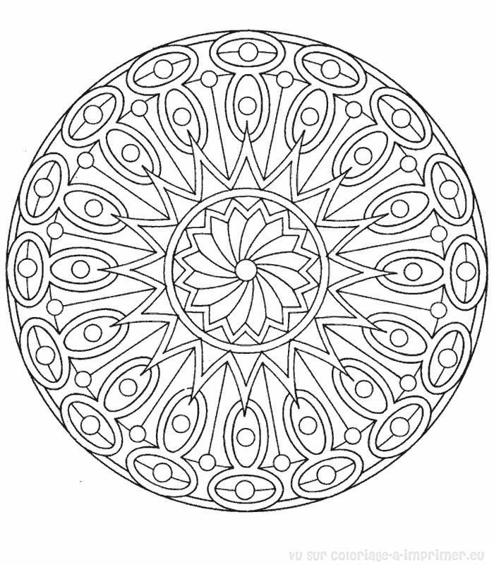 Free Printable Mandala Coloring Pages Adults Color Pages Mandala