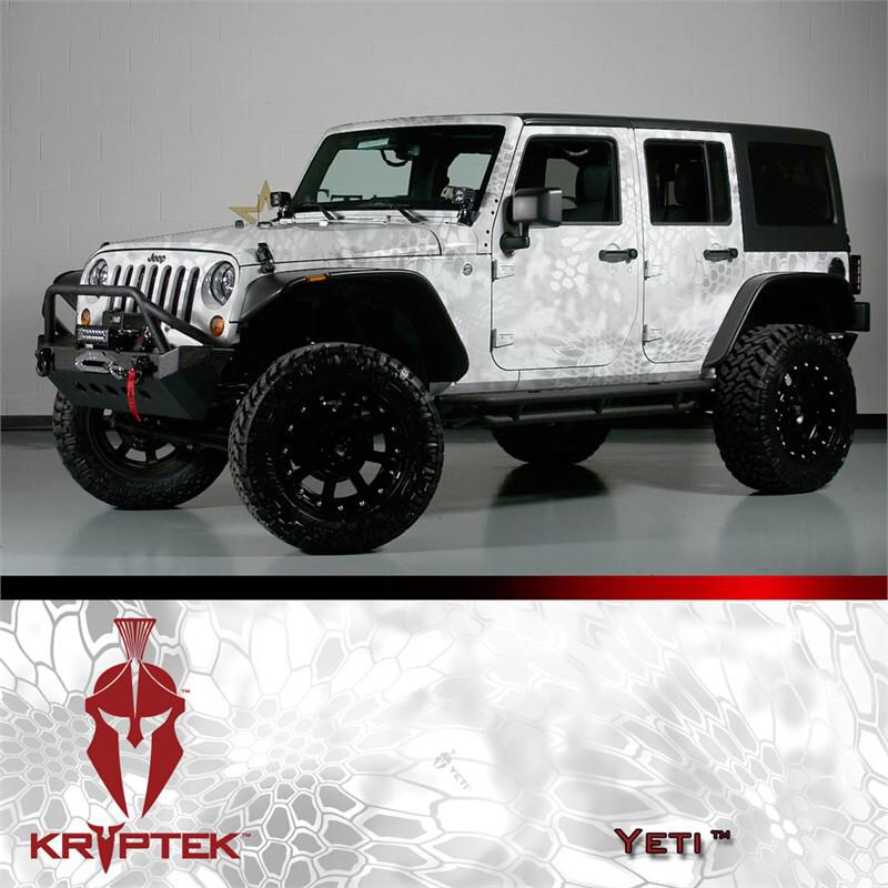 Yeti Camo Wrap Camo Vehicle Wraps Car Wrap Vinyl Wrap