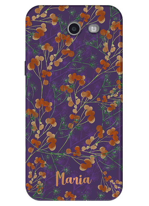 newest a2371 c57aa Floral Samsung Galaxy J3 Emerge Case, J3 Eclipse Case, J3 Prime ...