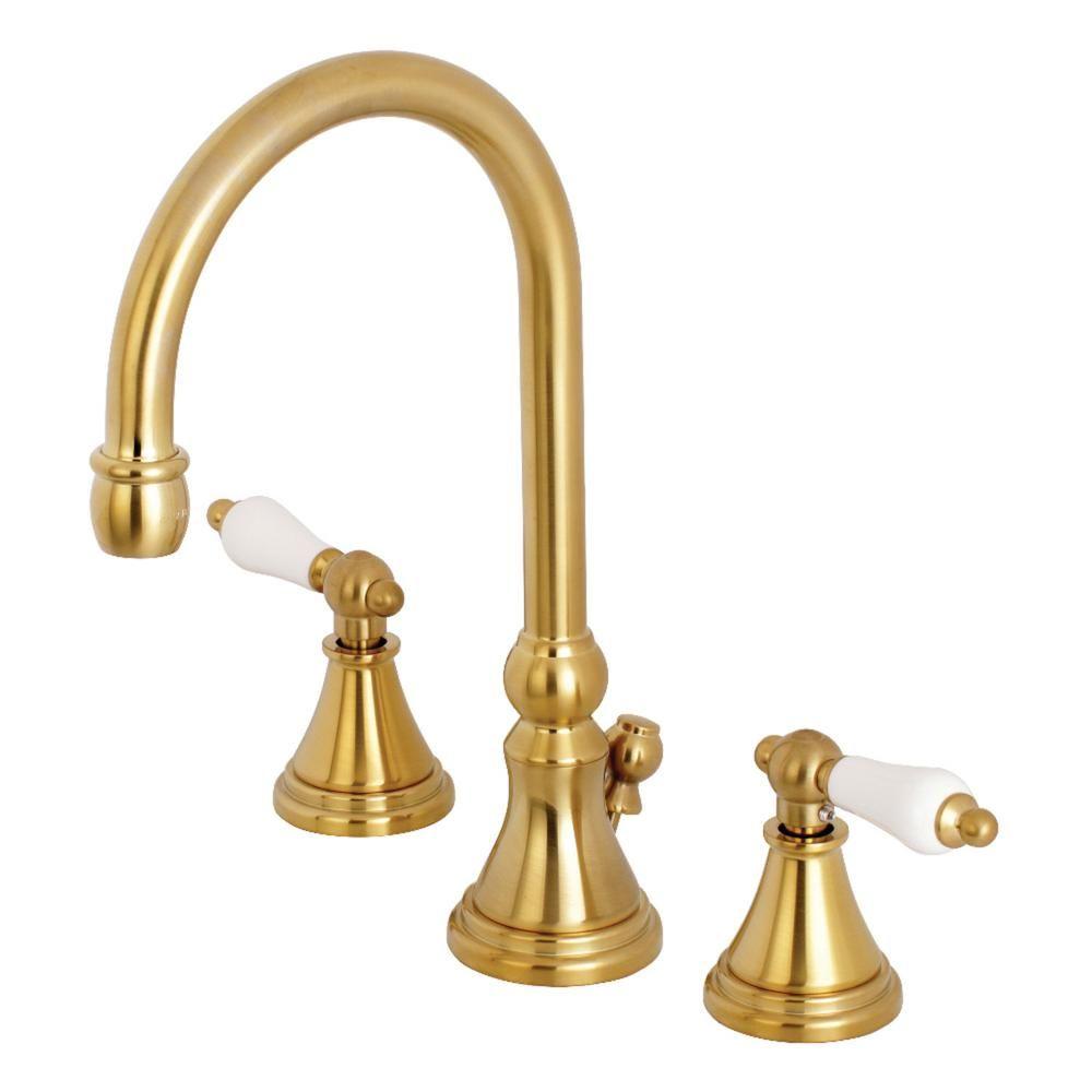 Kingston Brass Governor Brass Bathroom Kingston Brass Widespread Bathroom Faucet