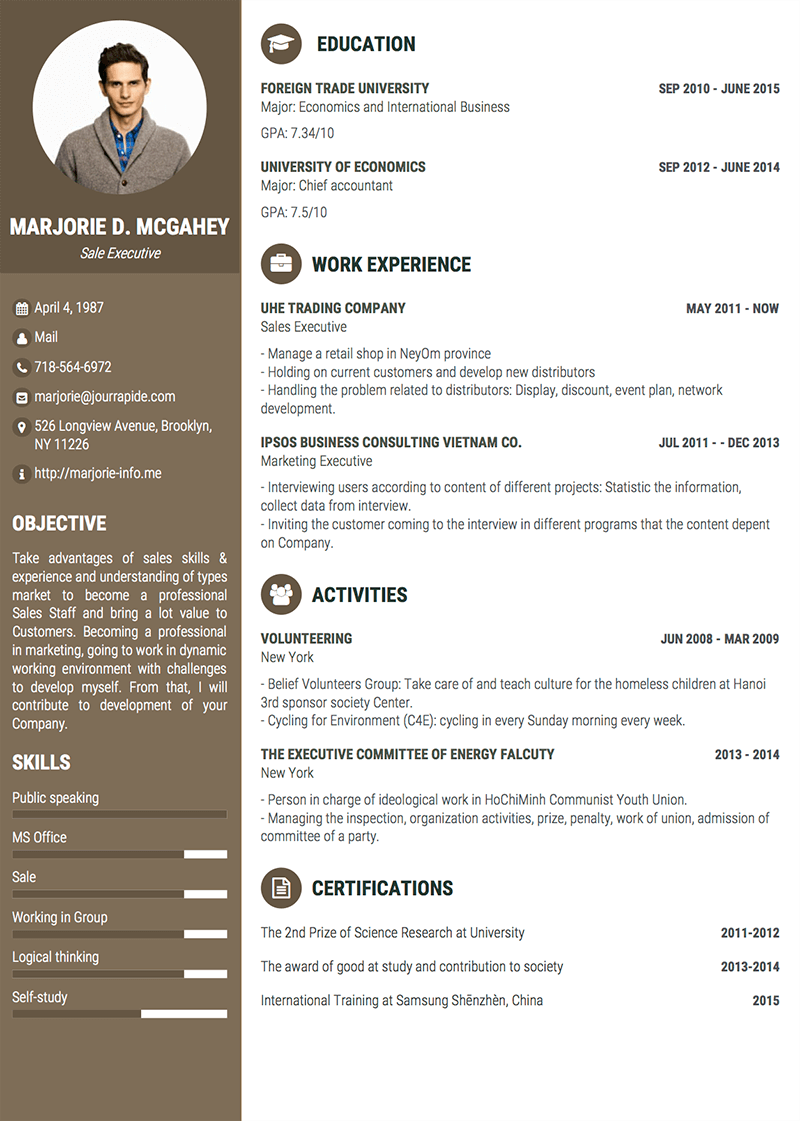 Sample Cv Design Director Pendidikan