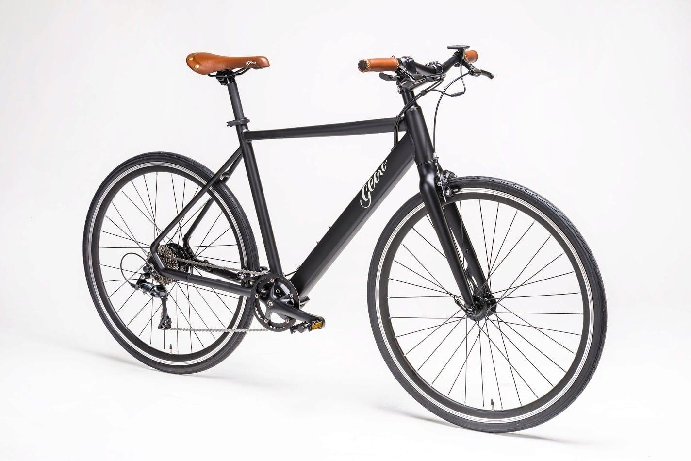 Geero E Bike Vintage Vinyl Black Retro Fahrrad E Bike Fahrrad Tattoo