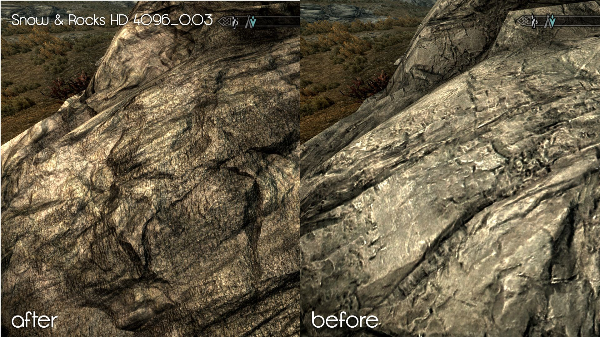 Snow and Rocks TEXTURES HD | Skyrim Mods | Skyrim mods, Snow