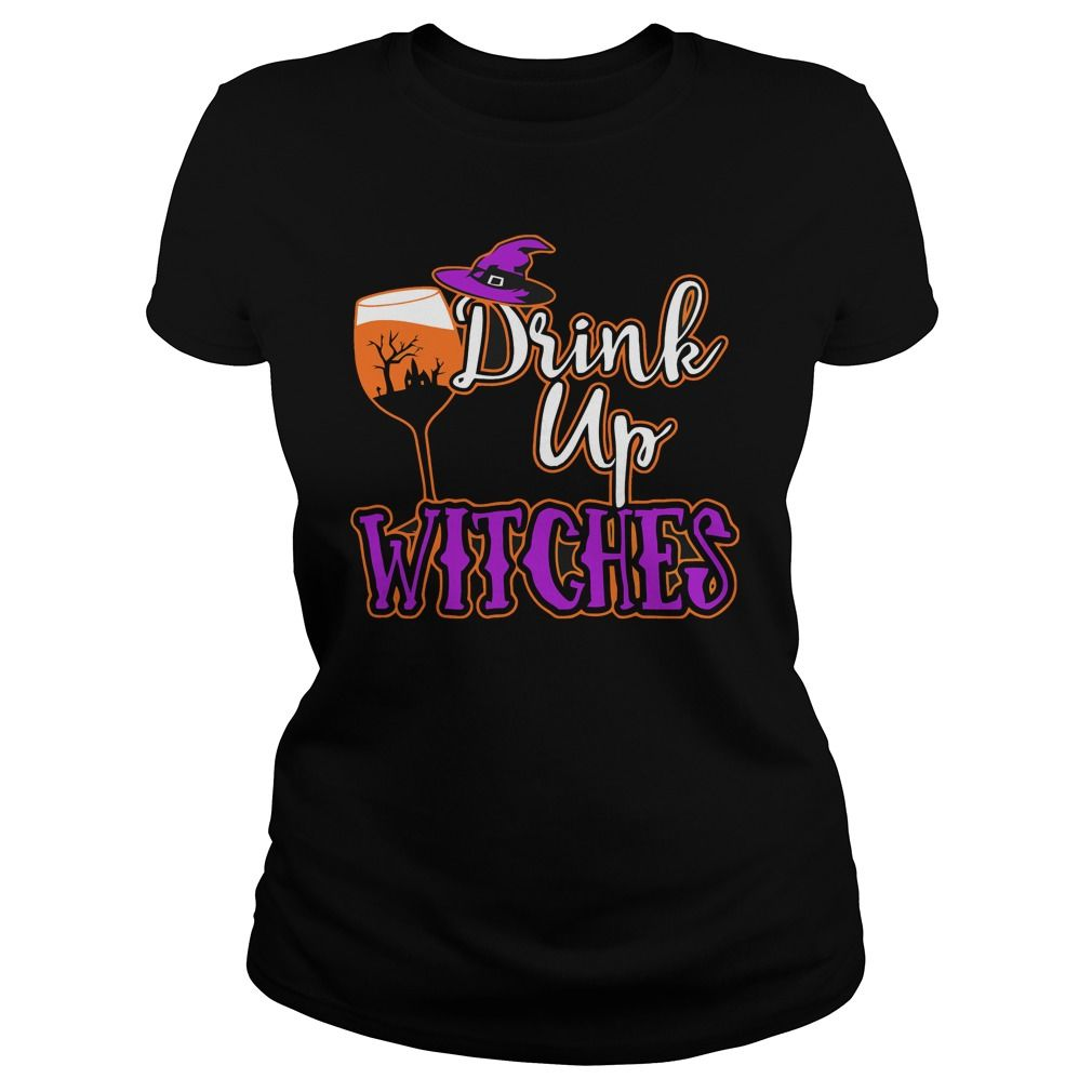 Halloween Wine DRINK UP WITCHES. Awesome, Funny, Scary, Happy Halloween  Quotes,