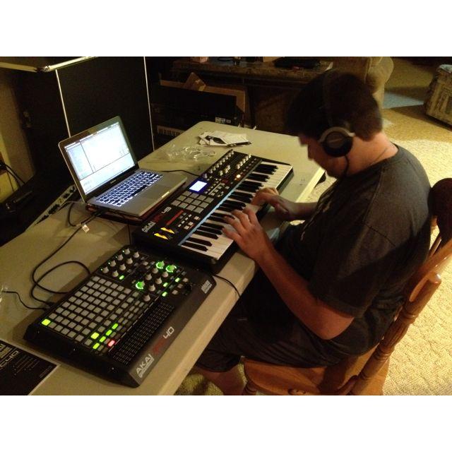 My new DJ setup