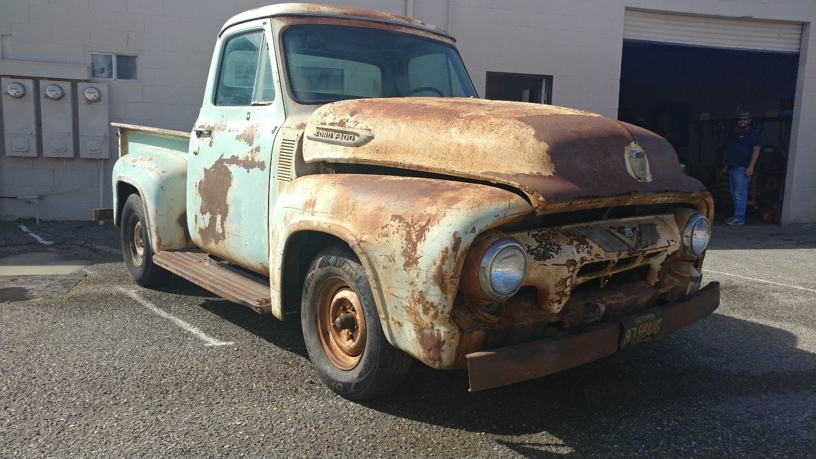 Patina Or Rust 1954 Ford F100 Barn Finds Pinterest Trucks Long Bed Usa Https