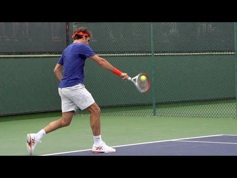 Roger Federer Ultimate Slow Motion Compilation Forehand Backhand Serve Volley Overhead Youtube Roger Federer Tennis Lessons Tennis Federer