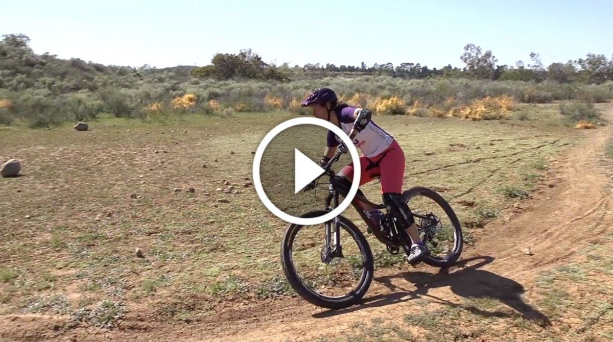 Video Mountain Bike Skills 101 Riding Flat Corners Mountain