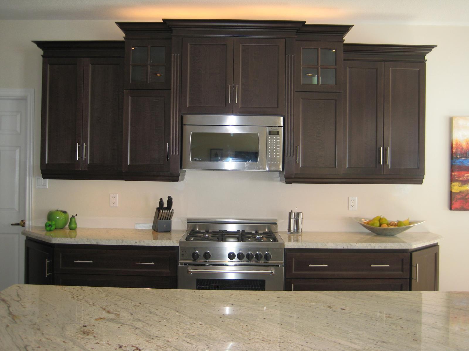 White Kitchens With Granite Countertops River White Granite