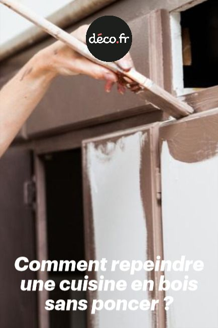 Comment repeindre une cuisine en bois sans poncer - Repeindre meuble de cuisine sans poncer ...