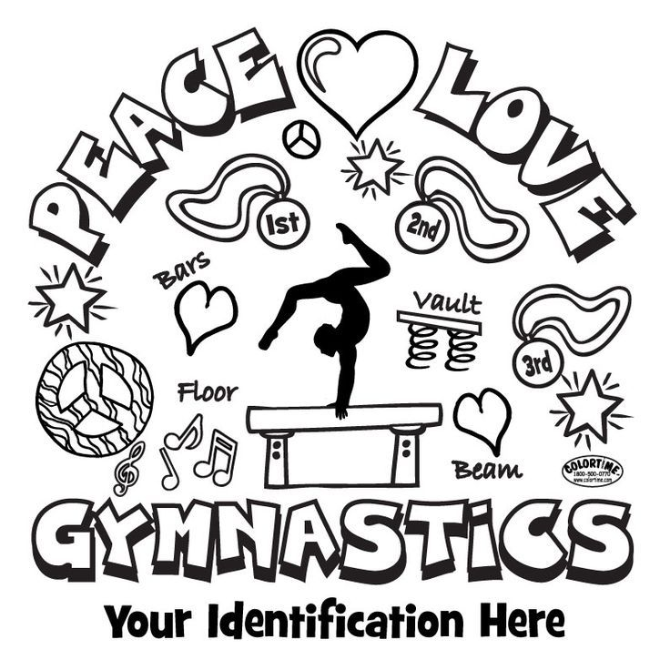 Image Result For Gymnastics Coloring Pages To Print Free Sports