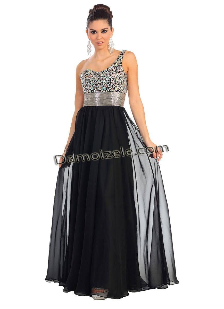 Robe de soirée longue | Robe de star bustier asymétrique
