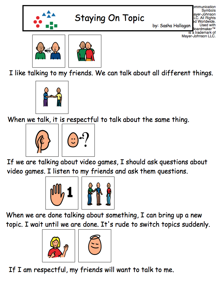 Teaching Conversation Skills Teaching Social Stories Pinterest