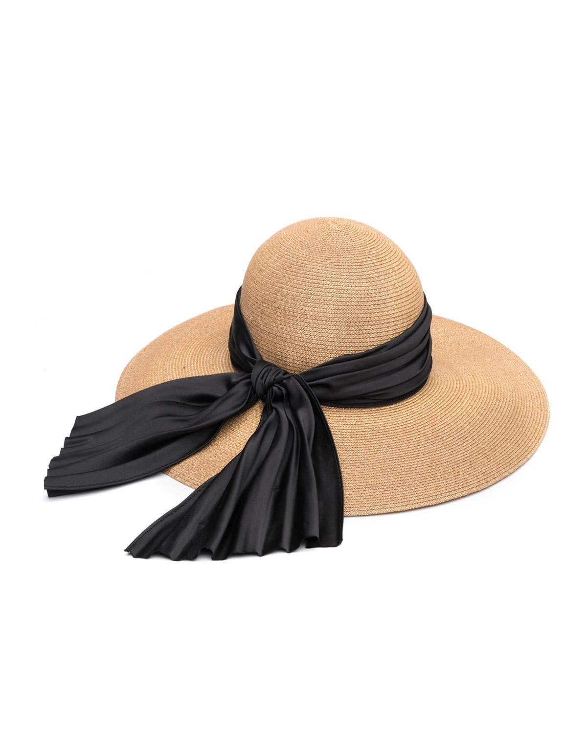 9898b612 Honey Floppy Sun Hat with Satin Band | Products | Floppy sun hats ...