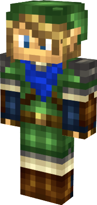 Link From Hyrule Warriors Minecraft Skin TheLegendofZelda - Skins para minecraft zelda