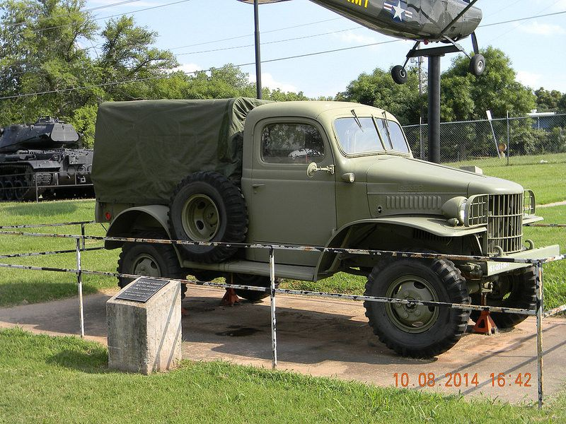 45th Infantry Division Museum Oklahoma City, Oklahoma Dodge WC series truck