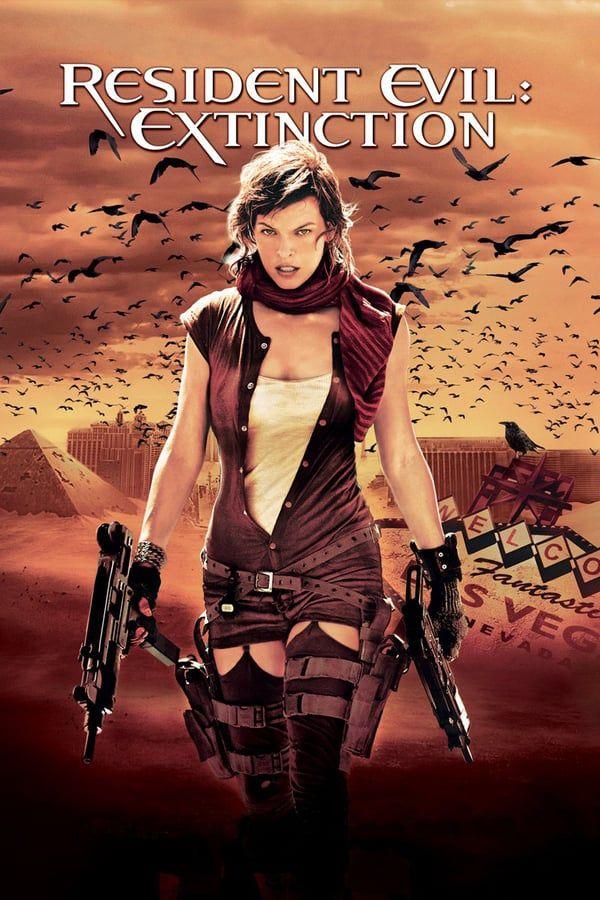 ผีชีวะ ภาค 3 (Resident Evil: Extinction) | Resident evil movie, Resident  evil extinction, Resident evil