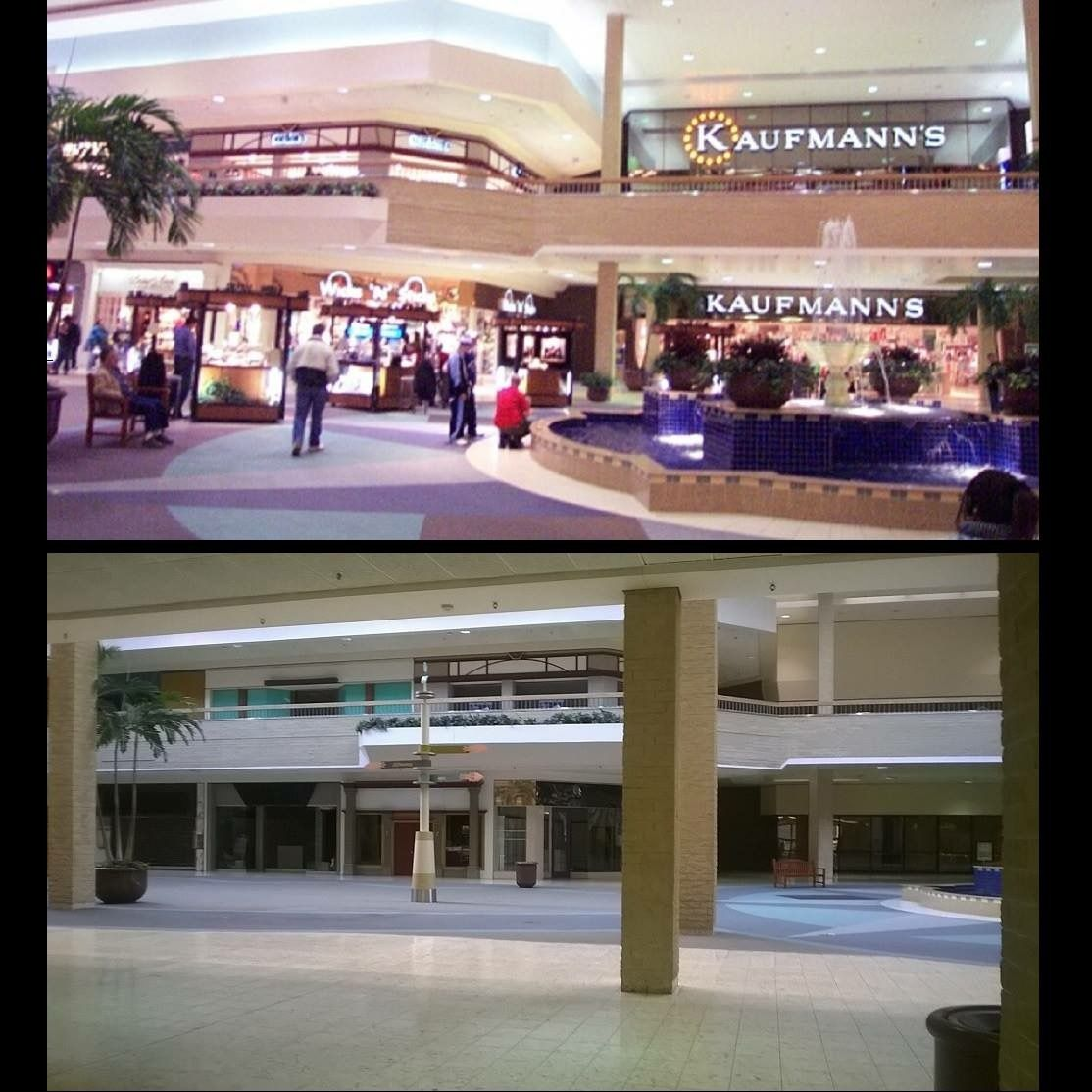 Century Iii Mall Then And Now Pittsburgh Pa Shopping