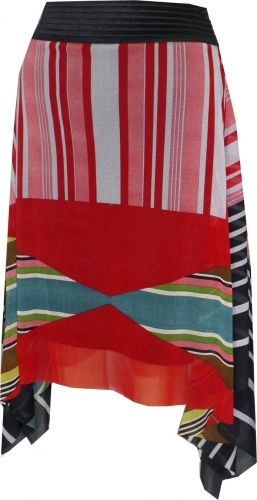 """Geometric Stripe"" Group skirt from Petit Pois"