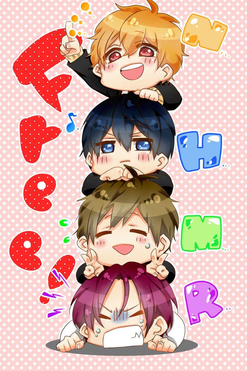 Free 1545351 Zerochan Free Anime Anime Free Iwatobi Free chibi anime wallpaper