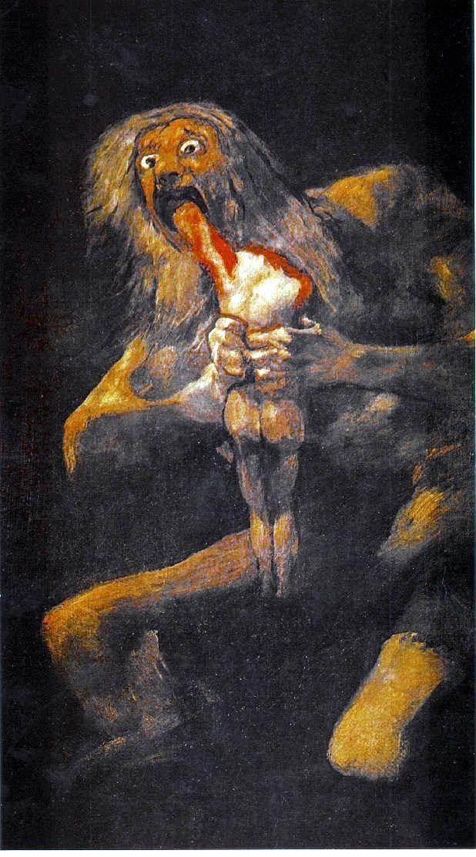 Saturn Devouring His Son Saturn Devouring His Son Goya Pittura