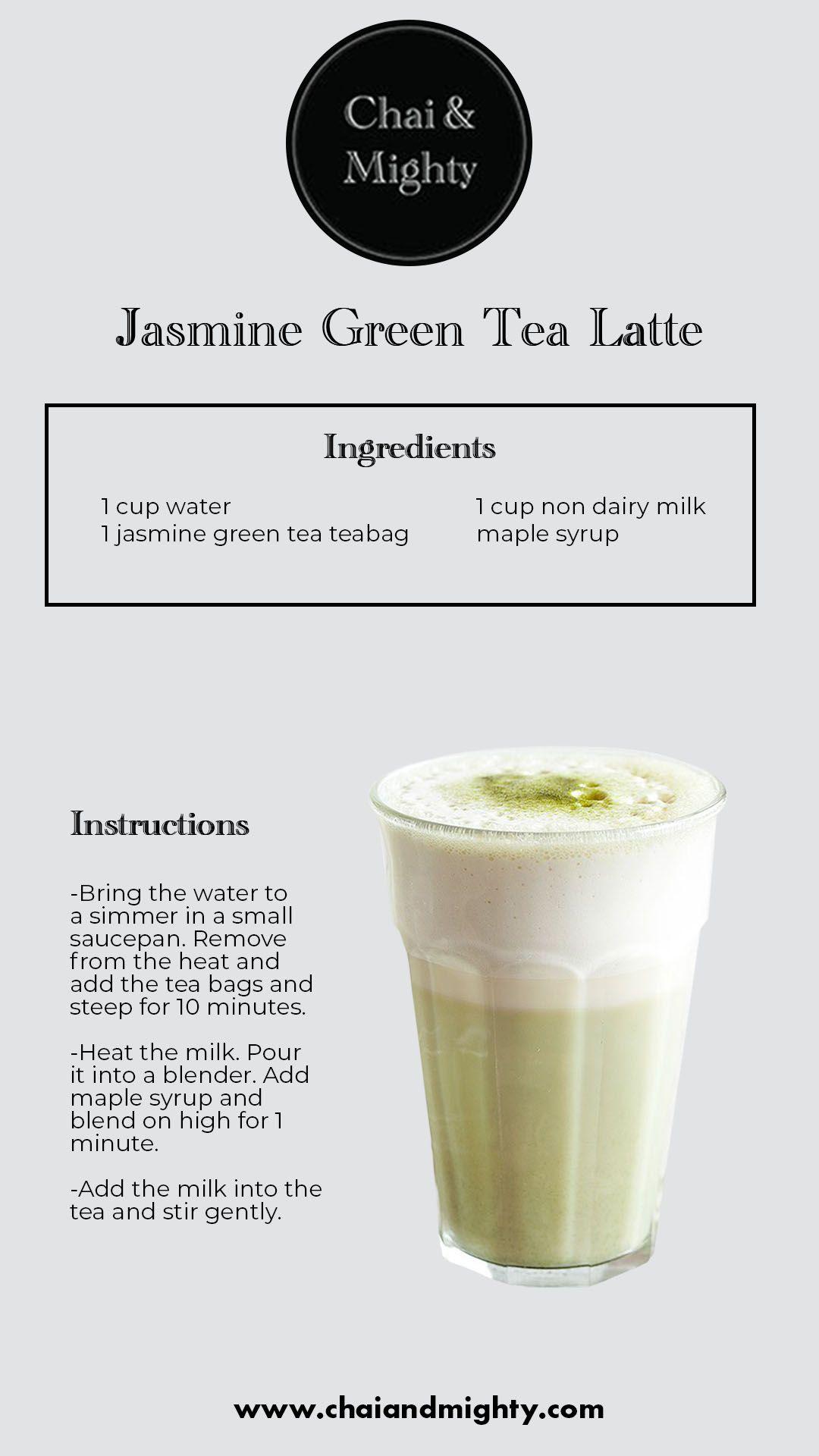 Photo of Jasmine Green Tea Latte