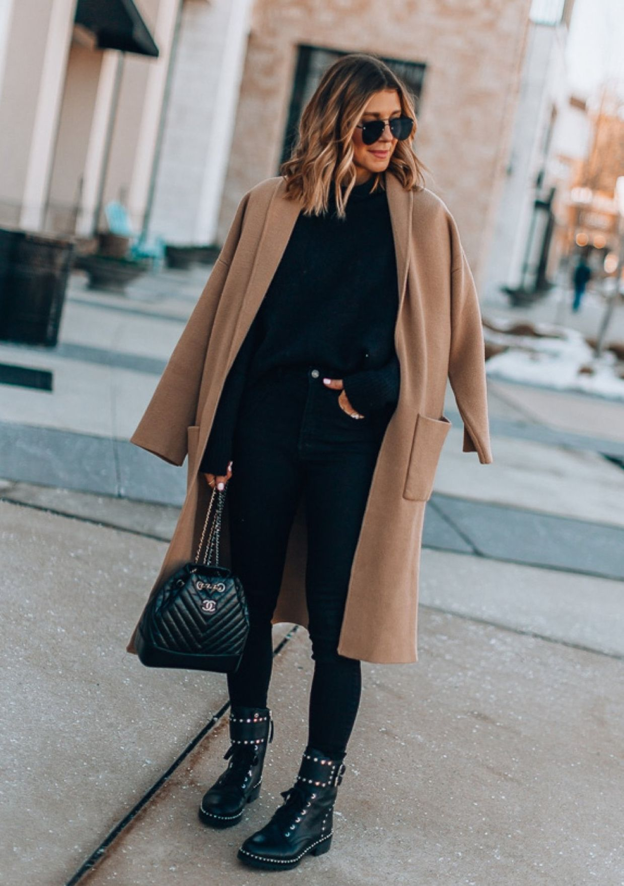 30+ Stunning Black Leggings Outfits For Winter You Need To Try ASAP