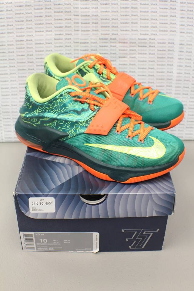 new concept 257a5 00635 Nike KD 7 Weatherman 653996 303 Size 10 NDS OG ALL NICE SHOE   Kixify  Marketplace