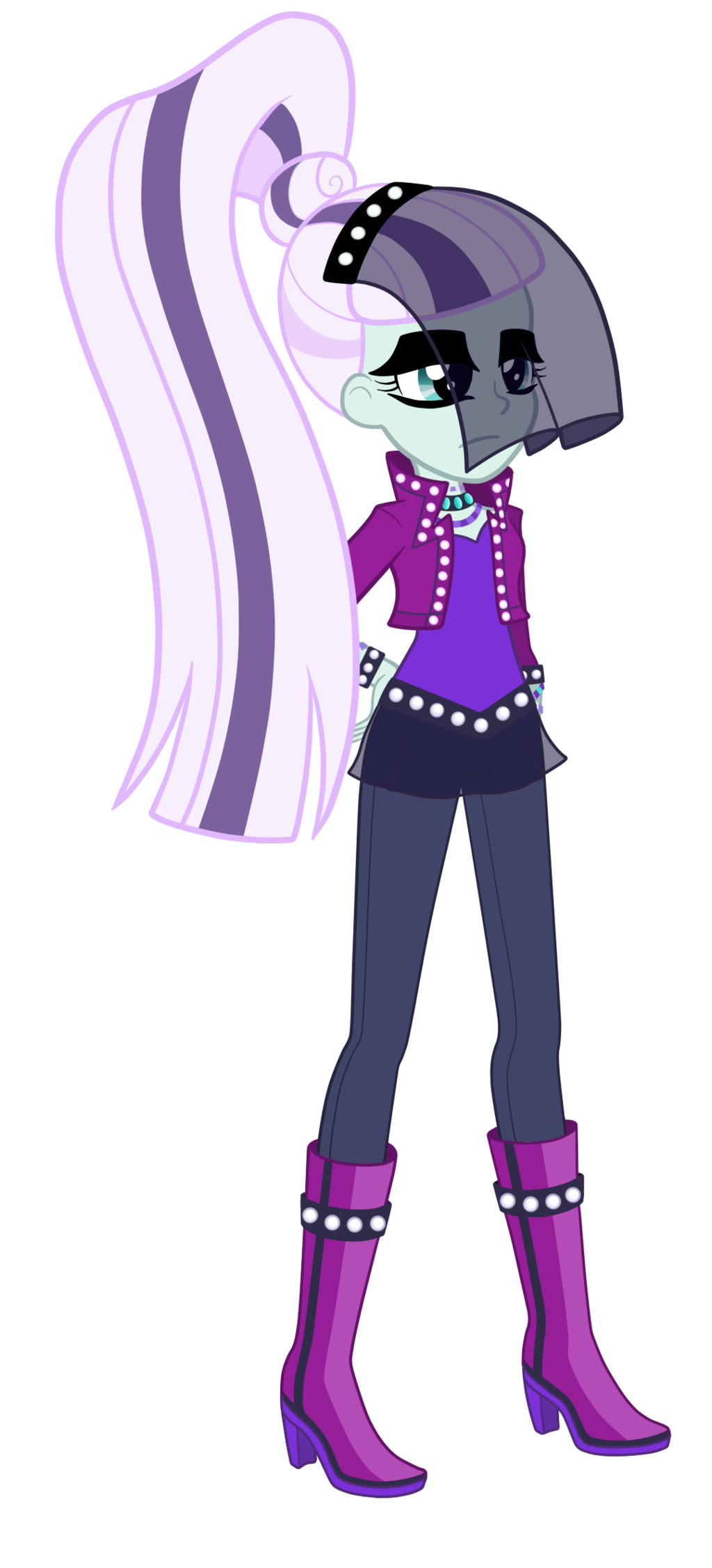 Equestria Girls Countess Coloratura By Thecheeseburger On