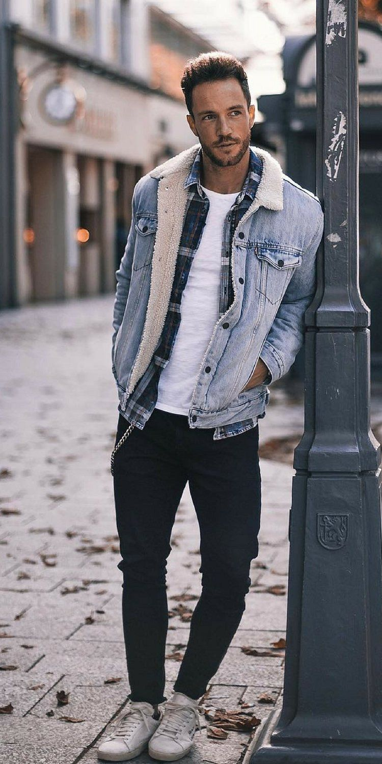 fall street styles looks for men  mens outfits jean