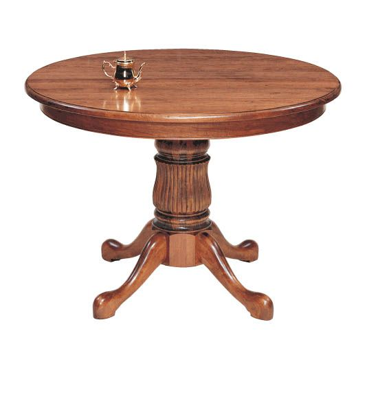 Bristol Solid Top Pedestal Dining Table By Keystone. Amish FurnitureDining  ...