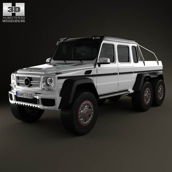 Mercedes benz g class 6 6 amg 2013 3d model from humster3d for Mercedes benz g class used 2003