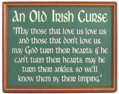 Funny Wedding Gifts Ireland : Funny Irish Quotes on Pinterest Irish Humor, Irish Quotes and Irish ...