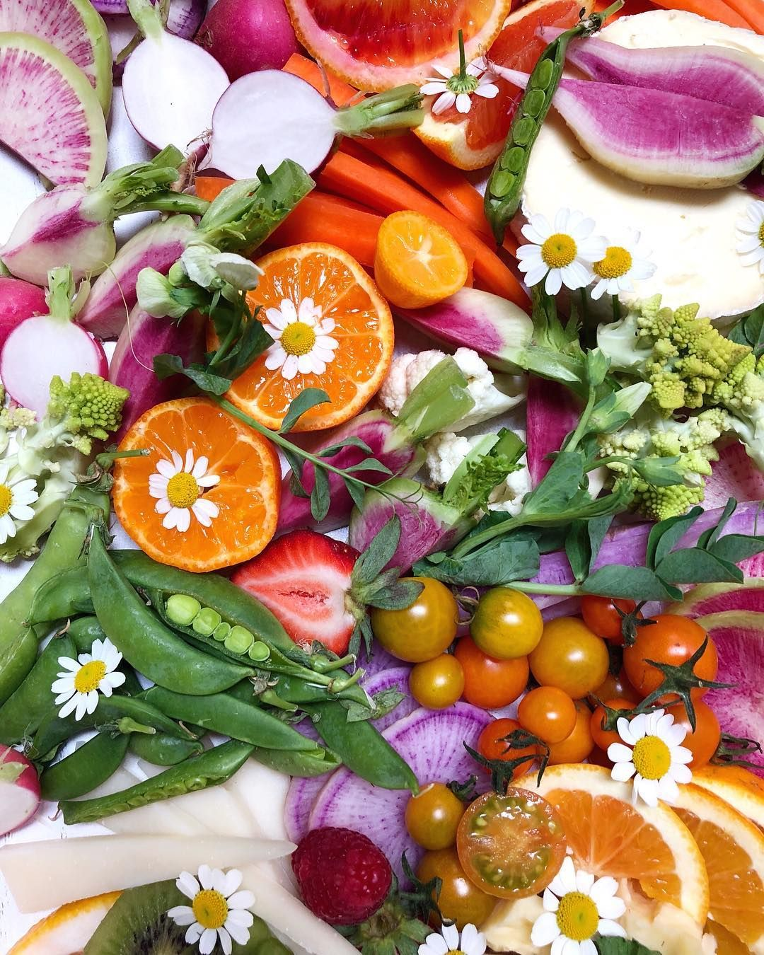 A visually stunning array of food - nature's inspiration!