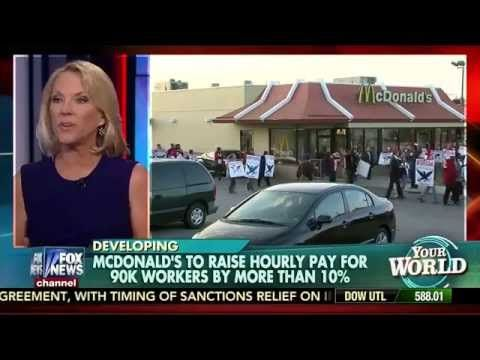 Addicting Info – McDonald's Raises Wages For All Hourly Employees But Not Franchisees (VIDEO)
