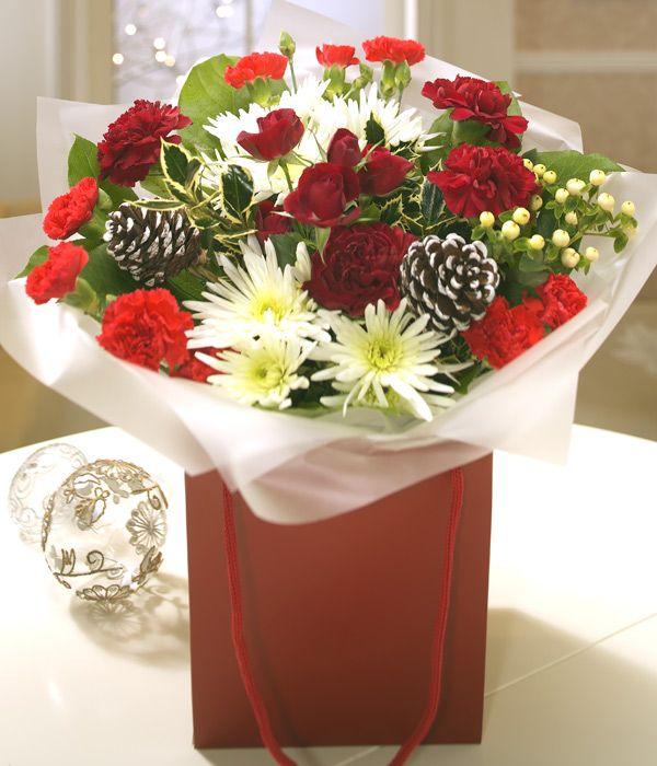 christmas flower bouquets - Google Search   букеты   Pinterest ...