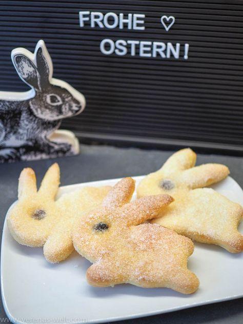 Süße Osterhäschen aus Quark-Öl-Teig | ° Verenas Welt °